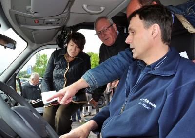 Fahrer-Einweisung in die Technik des Opel Movano, Fa. Rüschkamp, 16. Mai 2012