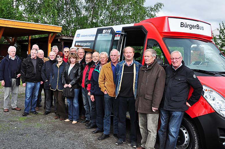 Baustellen machen zu schaffen – Bürgerbusverein zieht Bilanz