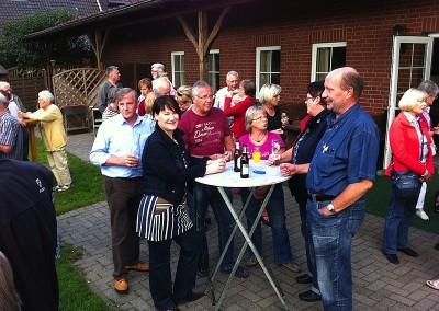 Grillabend für Fahrdienst und Seniorenbeirat, 10.8.2012