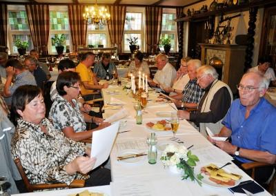 Erste Mitgliederversamlung 26. Juni 2012
