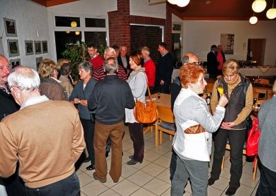 Gemütlicher Abend für den Fahrdienst, 30. 11. 2012 im Heimathaus Seppenrade