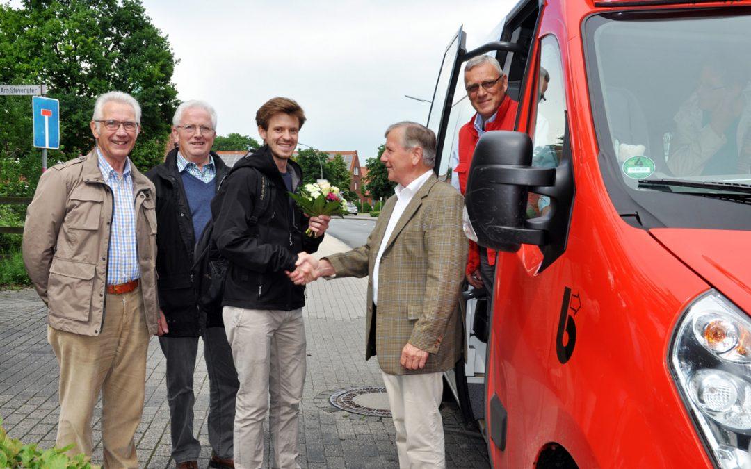 Mit der Smartphone-App zum Bürgerbus-Jubiläum