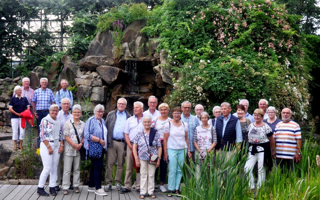 """Jahresfahrt zum """"NaturaGart""""-Unterwasserpark Ibbenbüren"""
