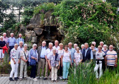 Jahresfahrt zum Unterwasserpark NaturaGart Ibbenbüren, Juli 2019